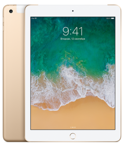 Купить Apple iPad 128Gb Wi-Fi + Cellular (Gold) в Перми