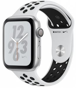 Купить Apple Watch Nike+ 44mm Silver Aluminum Case, Pure Platinum/Black Nike Sport Band в Перми