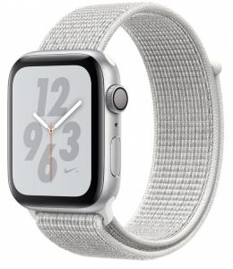 Купить Apple Watch Nike+ 44mm Silver Aluminum Case, Summit White Nike Sport Loop в Перми