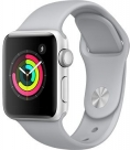 Купить Apple Watch Series 3 38mm Silver Aluminum Case, Fog Sport Band в Перми