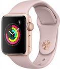 Купить Apple Watch Series 3 38mm Gold Aluminum Case, Pink Sand Sport Band в Перми