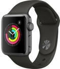 Купить Apple Watch Series 3 38mm Space Gray Aluminum Case, Gray Sport Band в Перми