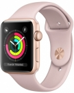 Купить Apple Watch Series 3 42mm Gold Aluminum Case, Pink Sand Sport Band в Перми