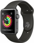 Купить Apple Watch Series 3 42mm Space Gray Aluminum Case, Gray Sport Band в Перми